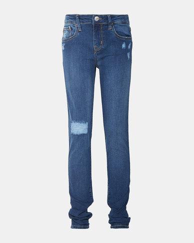 Big Girls (7-16) 710 Super Skinny Fit Jeans