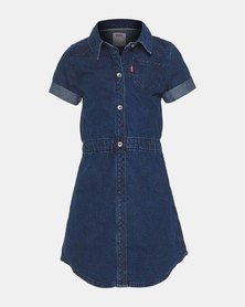 Little Girls (4-6X) Short Sleeve Western Dress