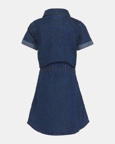 Little Girls (4-6X) Short Sleeve Western Dress