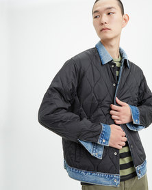 Reversible Padded Trucker Jacket
