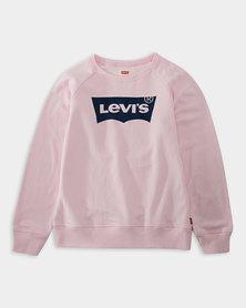 Little Girls (4-6X) Batwing Pullover Sweatshirt