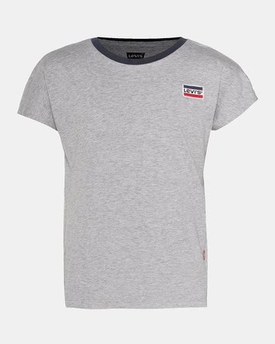Big Girls (S-XL) Sportswear Logo Patch Tee