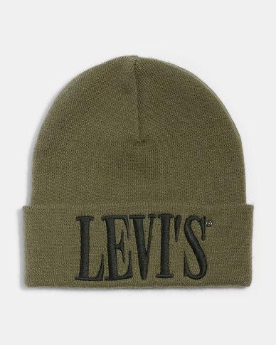 Levi's Serif Logo Beanie