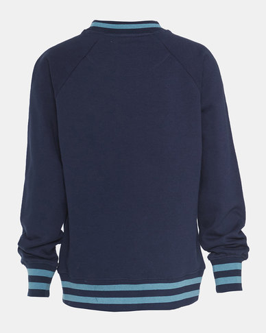 Big Boys (S-XL) French Terry Crewneck Sweatshirt