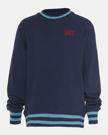 Big Boys (S-XL) French Terry Crewneck Sweatshirt