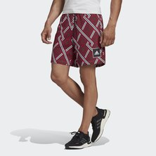 ALLOVER PRINT SHORTS