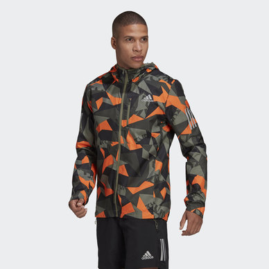 OWN THE RUN CAMO JACKET