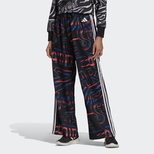 ALLOVER PRINT 3-STRIPES WIDE PANTS