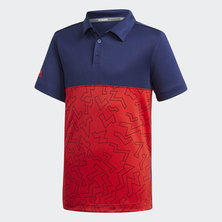 GRAPHIC BLOCK POLO SHIRT