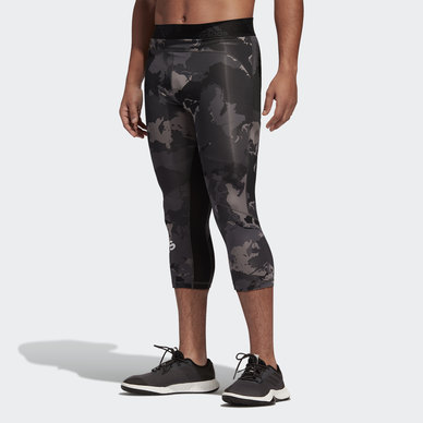 ALPHASKIN CAMO 3/4 TIGHTS