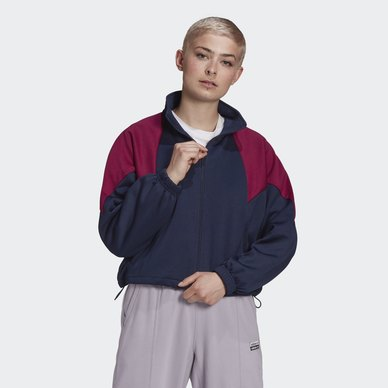 LARGE LOGO TRACK TOP