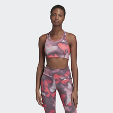 DESIGNED TO MOVE ALLOVER PRINT BRA TOP