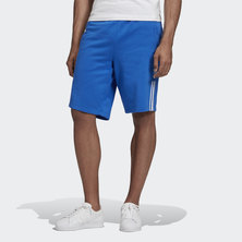 3D TREFOIL 3-STRIPES SWEAT SHORTS