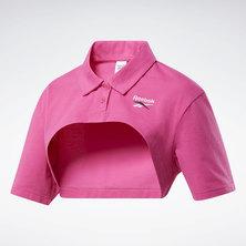 Vector Cropped Polo Shirt