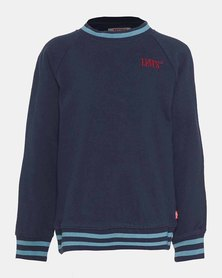 Little Boys (4-7) French Terry Crewneck Sweatshirt
