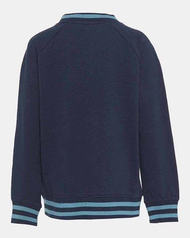 Little Boys (4-7) French Terry Crewneck Sweatshirt