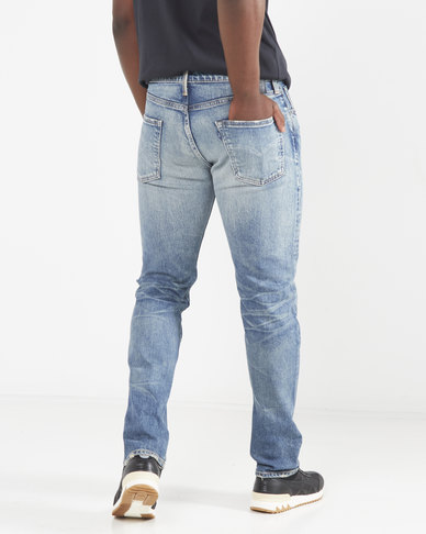 Levi's Made In Japan Levi's 502 Taper Fit Selvedge Jeans