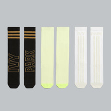 IVY PARK 3-PACK LOGO SOCKS (GENDER NEUTRAL)