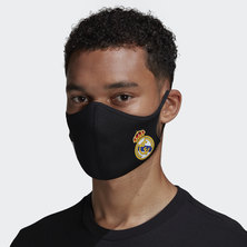 REAL MADRID FACE COVERS M/L 3-PACK
