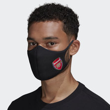 ARSENAL FACE COVERS M/L 3-PACK