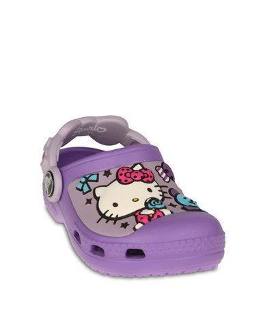 fae1f8e2d Hello Kitty Candy Creative Crocs Purple - Warehouse Sale