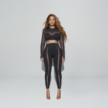 IVY PARK MESH PANEL TIGHTS