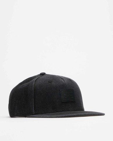 Levi's® Men's Flat Brim Hat - 2 Horse Logo Patch