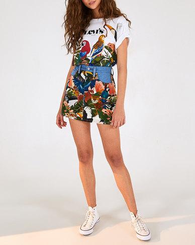 Levi's® x FARM Rio Ribcage Skirt