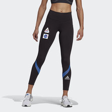 OWN THE RUN SPACE RACE 7/8 RUN LEGGINGS
