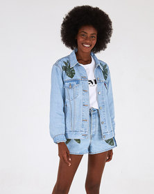 Levi's® x FARM Rio Women's Ex-Boyfriend Trucker Jacket