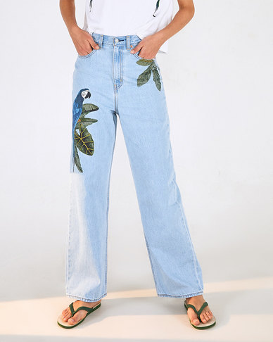 Levi's® x FARM Rio High Loose Jeans