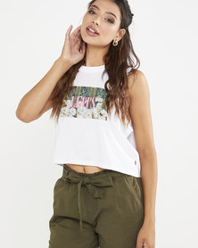 Levi's® Women's Graphic Crop Tank Top