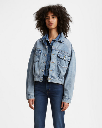 Levi's® Women's Oversized Utility Trucker Jacket