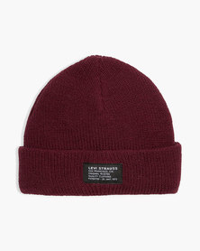 Levi's® Men's Cropped Beanie - No Horse Pull Patch