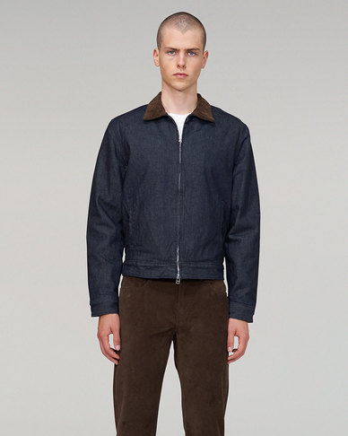 Levi's® Made & Crafted® QUILTED ZIP JACKET LMC TRAVERSE