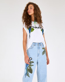 Levi's® x FARM Women's Boxy Graphic Tee