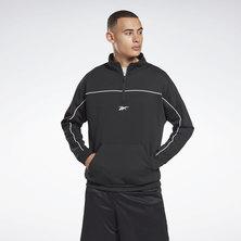 Workout Ready Doubleknit Quarter Zip Sweatshirt