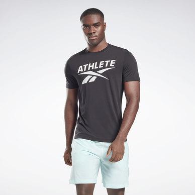 Athlete Vector Graphic T-Shirt