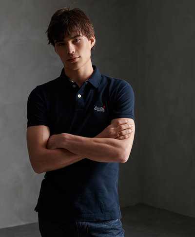 Organic Cotton Classic Pique Polo Shirt