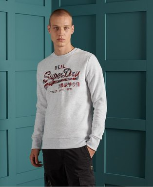 Vintage Logo Brushed Sweatshirt