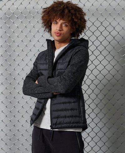 Storm Hybrid Zip Up Hooded Jacket
