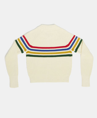 Whitaker Stripe Crew Jumper