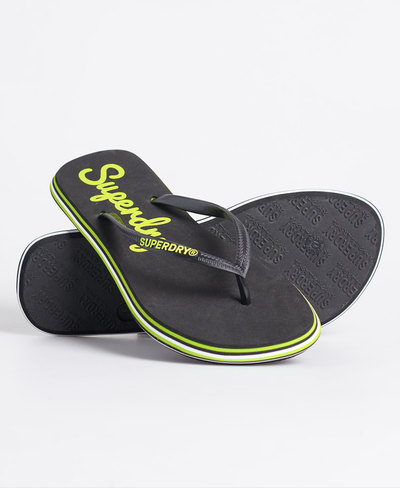 Neon Rainbow Sleek Flip Flop