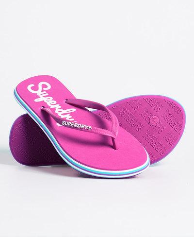 Neon Rainbow Sleek Flip Flop