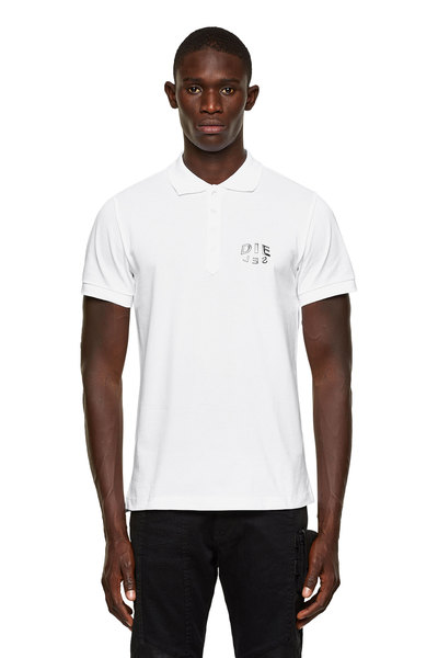 Polo Shirt With 3D Print