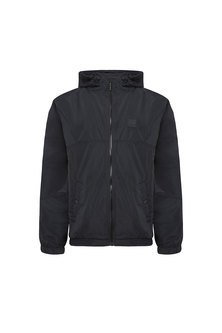 Hooded Jacket In Light Tech Fabric