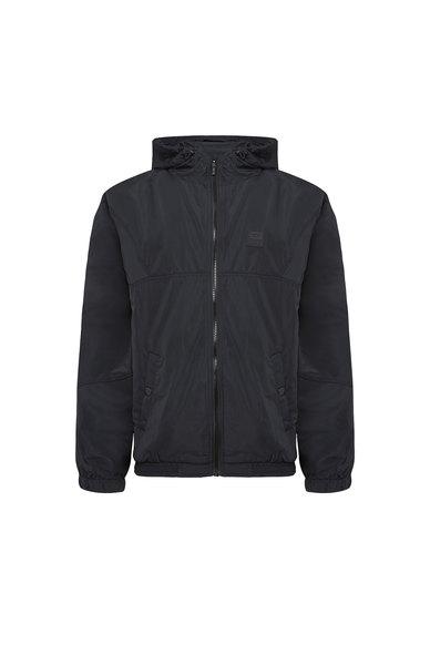Hooded Jacket In Light Tech Fabric