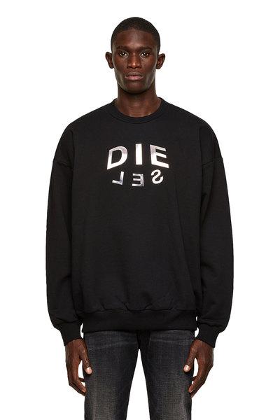 Sweatshirt With Die-Sel Logo Print