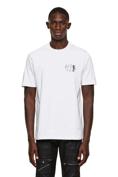 T-Shirt With Die-Sel Print