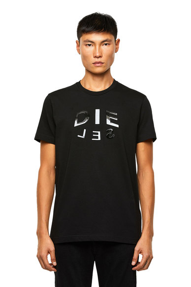 T-shirt with DIE-SEL logo print
